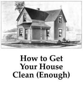 How to Get Your House Clean enough